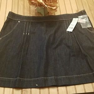 Elle bluejean skirt